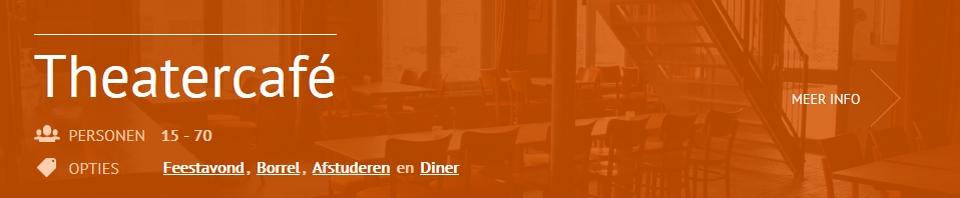 Feestlocatie Theatercafé Scheltema Leiden