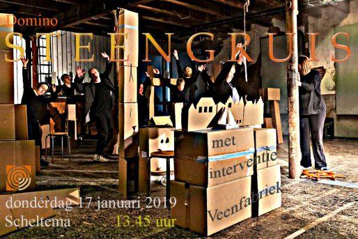 Theatergroep Domino Steengruis flyer
