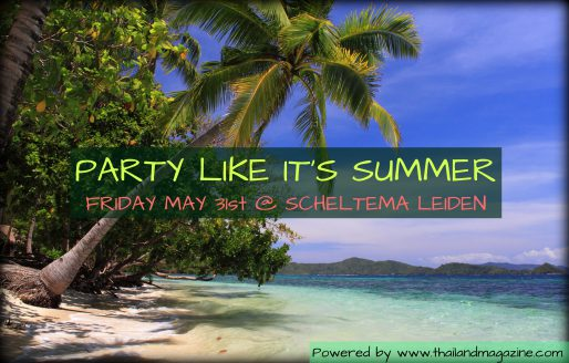 Pre-Flyer Party Like its Summer op vrijdag 31 mei in Scheltema Leiden