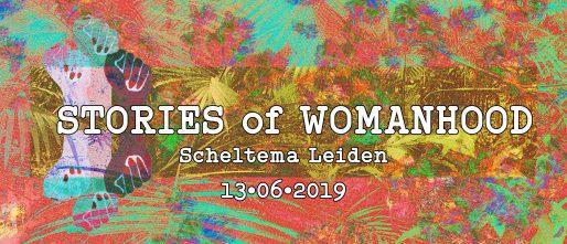 banner stories of motherhood in scheltema leiden op donderdag 13 juni 2019