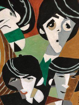 The Beatles Schilderij Dick Zuydwijk