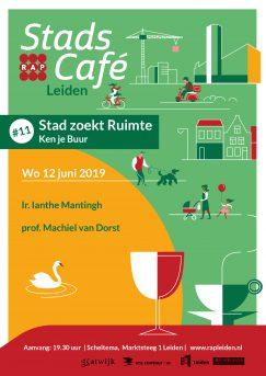Stadscafe #11 Stad zoekt Ruimte; Ken je Buur in Scheltema Leiden op woensdag 12 juni 2019