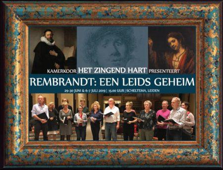 Het Zingend Hart Rembrandt een Leids geheim in Scheltema Leiden