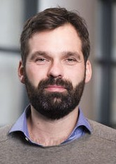 Martijn van der Linden, lector New Finance aan de Haagse Hogeschool. Spreker op Science Cafe Leiden (De toekomst van ons geldstelsel) op 10 september 2019 in Scheltema Leiden