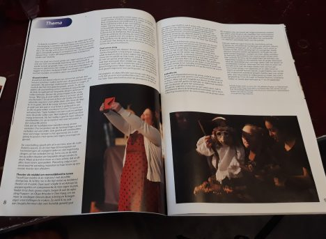 Artikel Violetta van Theategroep Domino uit Leiden