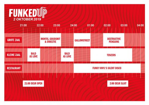 timetable funked up in scheltema leiden op woensdag 2 oktober 2019