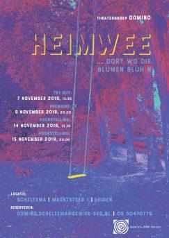 Domino voorstelling Heimwee in Scheltema Leiden