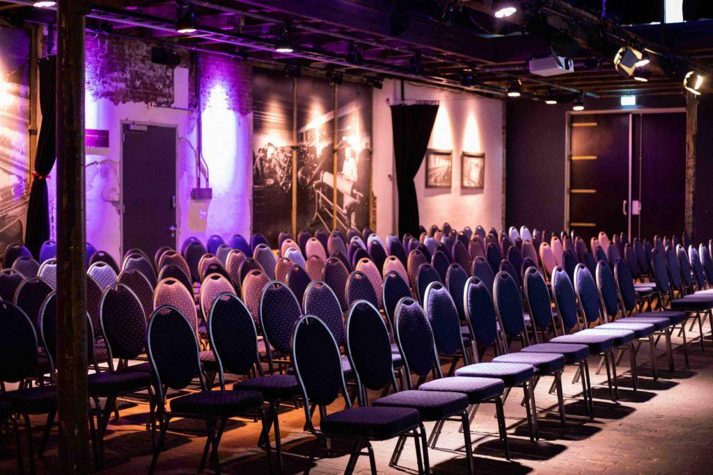 De Theaterzaal van Scheltema Leiden
