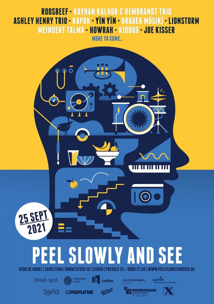 Peel Slowly and See 2021 affiche