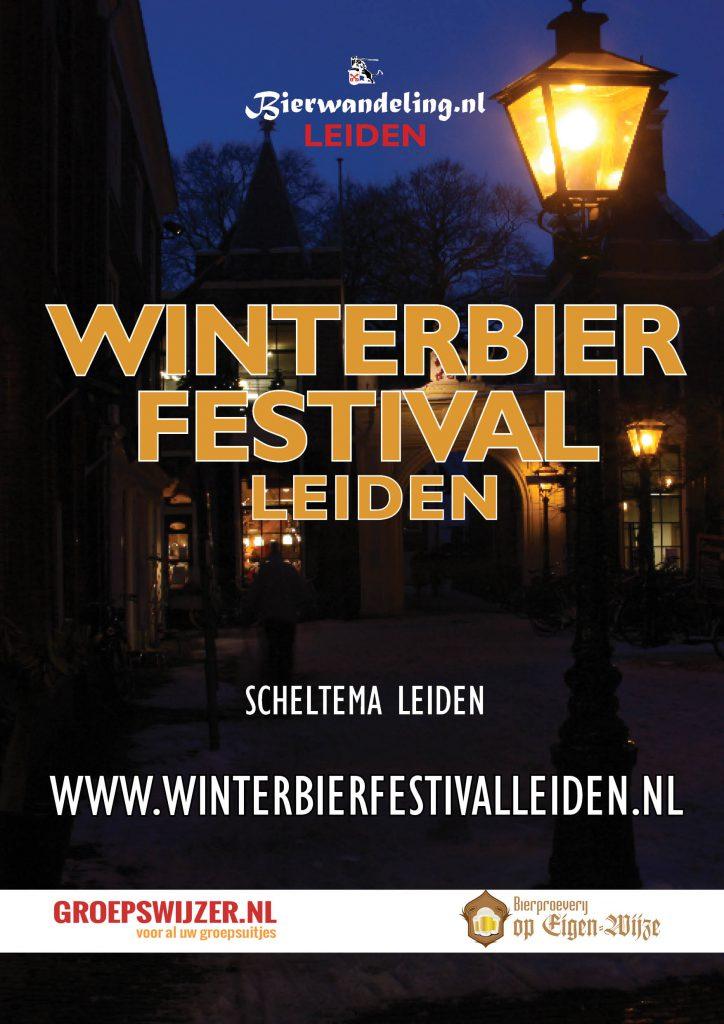 Winterbier Festival 2022 in Scheltema Leiden op 30-01-2022