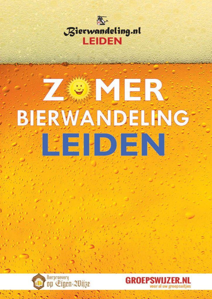 Zomerbierwandeling op zondag 4 juli 2021 in Leiden