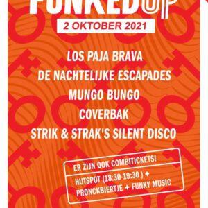 Funked Up Festival 2 oktober in Scheltema Leiden