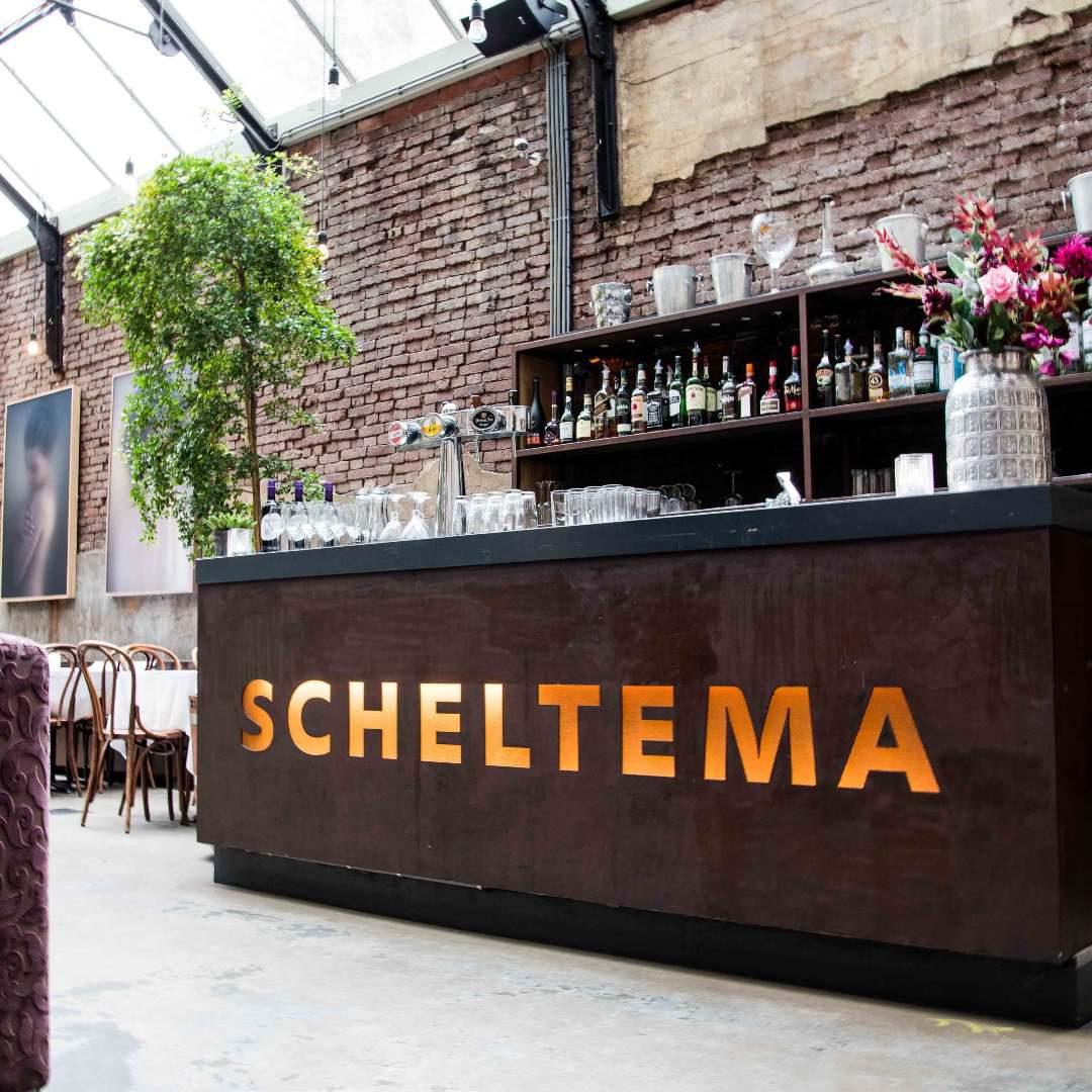Scheltema Bar in het Ketelhuis van Scheltema Leiden